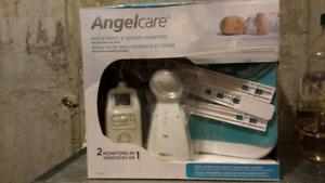 Moniteur Angel Care pour nouveau-né, sons & mouvement