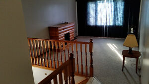 2 bedroom upper level of house for rent available Sept 1