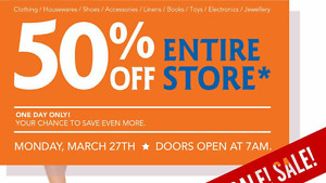 50% off the entire store - TALIZE