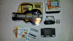 Nintendo Ds Band Hero Like New with New Ds Guitar Case