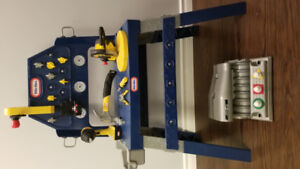 Little Tikes toy workbench with tools