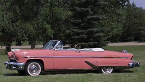 Stunning 1955 LINCOLN CAPRI CONVERTIBLE Estate Sale
