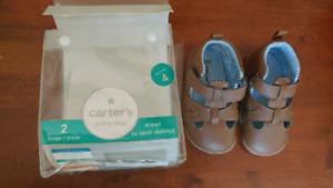 Carter's Step 2 shoes sz 4