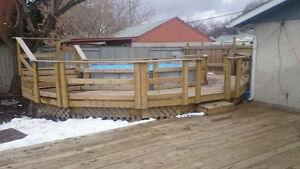 Intex Ultra Frame Pool With Surround Decking