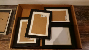 4 Ikea Ribba photo frames 4x6