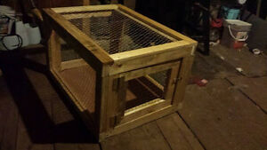 Rabbit or animal cages custom built