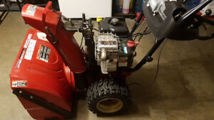 "27"" Craftsman 9.5HP Auto Snowblower in excellent condition"