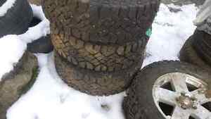 jeep wrangler winter tires and rims  West Island Greater Montréal image 3