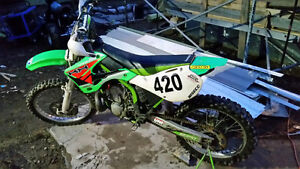 kx 250 2 stroke looking to trade for a 4 stroke