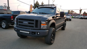 2008 // FORD // F350 // DIESEL // LARIAT // BLACKED OUT //