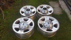 Aluminum Rims for Ford 250 or 350 Cornwall Ontario image 1