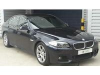 BMW 520d 2010 M Sport Saloon Manual Diesel In Black