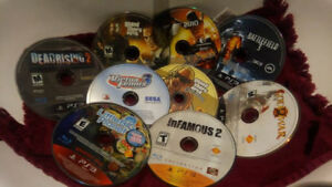 selling a few ps3 games