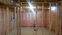 Basment framing specialist