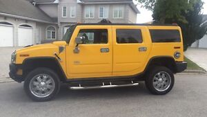 Hummer H2 | 2004 | Yellow | Chrome | Low KM (Clean)