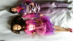 Donnie and Marie dolls