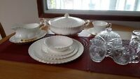 Down Sizing -Royal Albert Val d'Or China Set-Mint Condition