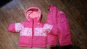 New Carters baby girl snow suit 12 months