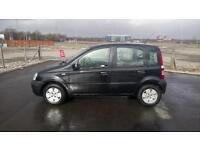 """FIAT PANDA 1.1 ACTIVE 5 DOOR 2008 """"58"""" REG 51,000 MILES FACTORY BLACK METALLIC"""