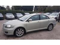 VERY LOW MILEAGE DIESEL TOYOTA AVENSIS 2.0 D-4D 2007MY T3-X FULL SERV HIST