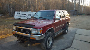 1994 Toyota 4 runner with snow plow REDUCED