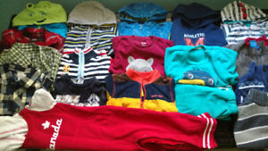 Boy's Winter/ Fall clothes lot- Size 2T ***SOLD***
