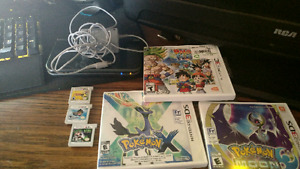 New nintendo 3ds +6 games+ charger