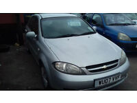 2007 Chevrolet 1.4 SE only 61K ( NOW £1200 TO CLEAR )