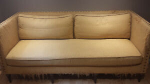Beautiful duck down couch for sale
