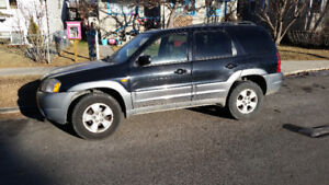 2002 Mazda Tribute SUV Excellent Vehicle For Winter Cheap