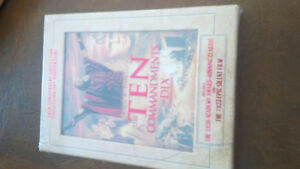 The Ten Commandments, Cecil B. DeMille's 50th Anniversary Collec Kitchener / Waterloo Kitchener Area image 1