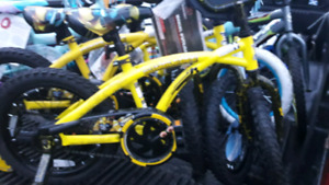 "Bumble bee 16"" new and other bike we have for sale"
