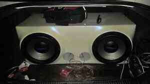 "800 Watt Peak Dual 10"" Subwoofer"