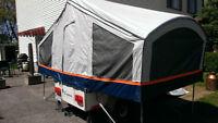 petite tente roulotte