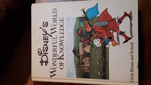 Disney's Wonderful World of Knowledge ( 3 books)