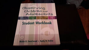 Observing Children and Adolescents Student Workbook