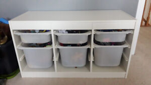 IKEA Storage kids toys - with boxes - GREAT CONDITION