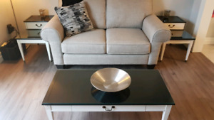Coffee Table and two side / end tables