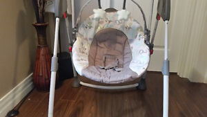 Graco Animal Theme Baby swing...works great!