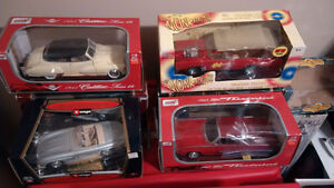1/18 Diecast and 1/24 Diecast Car Collection!