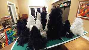 decorations for Black and White party/wedding