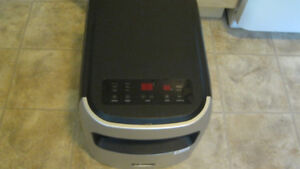 Classic TM/MC YD-907S infrared PTC zone heater and air purifier