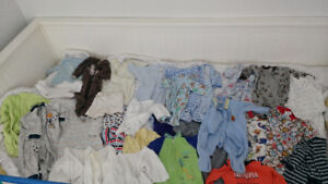 0-3 boy clothes, from pet free smoke free home