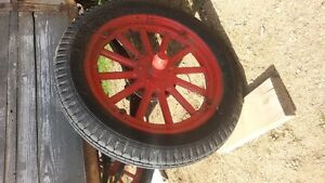 Model T wheels and springs