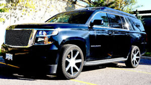 COMPLETE LUXURY- CUSTOM 2016 Chevrolet Suburban