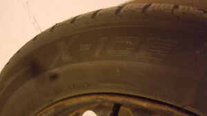215/60 R16 Michelin Winter Tires and Rims+2 Extra Tires London Ontario image 3