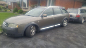 2002 and 2001 Audi A6