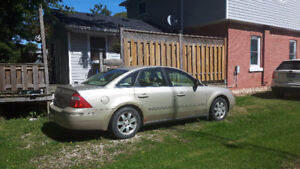 2005 Ford Five Hundred special edition Sedan