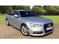 2013 Audi A6 2.0 TDI S Line 4dr Saloon with Manual Diesel Saloon