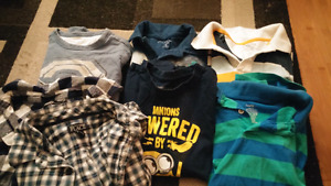 Lot of Boys clothes sizes 6, 7, 8
